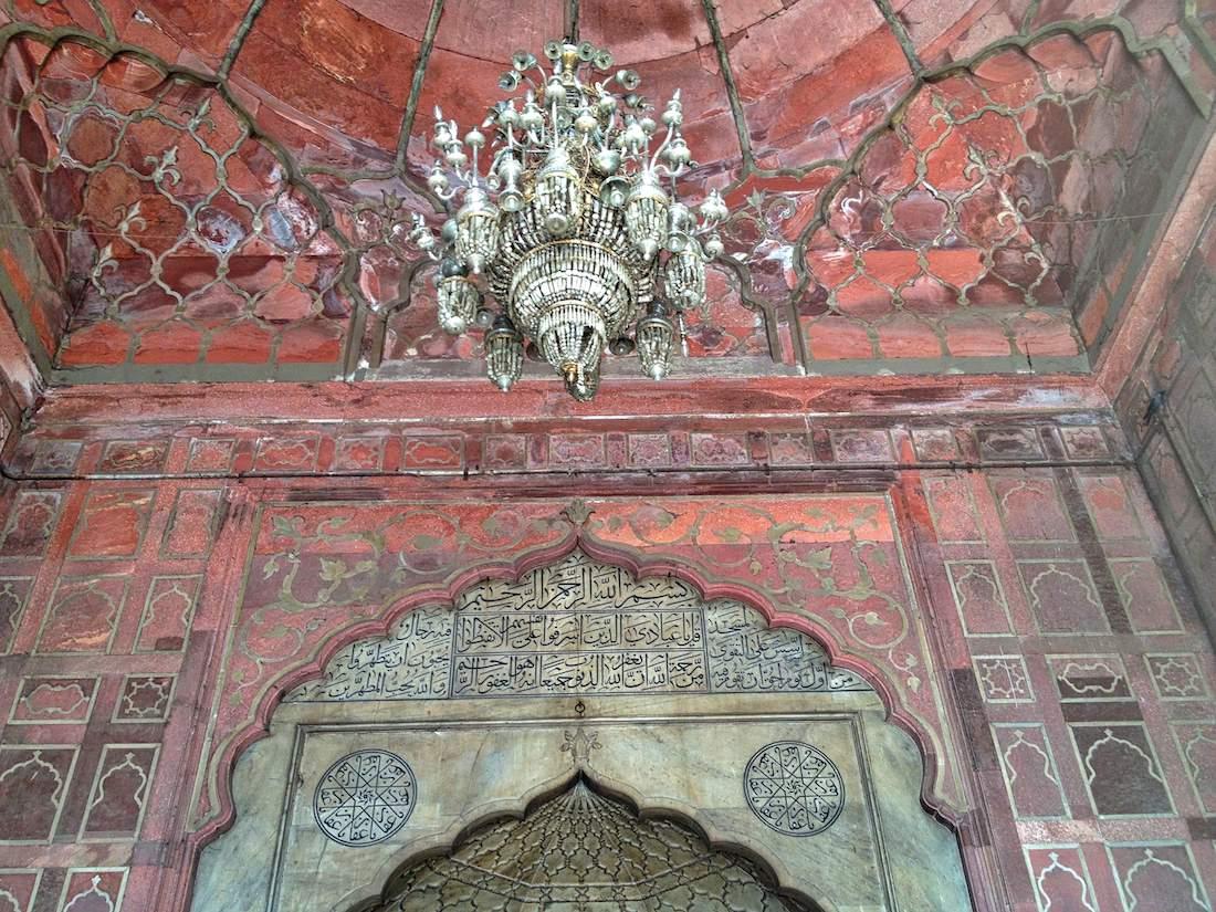 jama masjid chandelier 2
